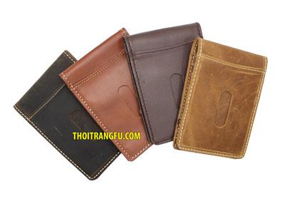 Những mẫu ví da bò nam được ưa chuộng nhất hiện nay