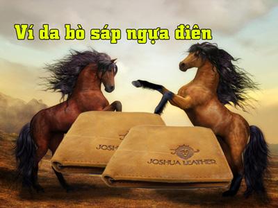 Ví da bò sáp – Da bò sáp ngựa điên?