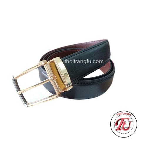 Dây nịt da bò khóa kim FLB01