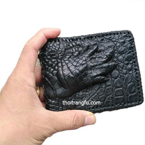 Ví da cá sấu FVS206